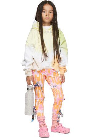 Collina Strada SSENSE Exclusive Kids & Orange Bow Leggings