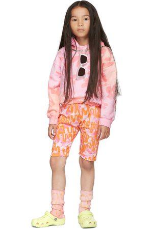 Collina Strada SSENSE Exclusive Kids & Orange Bullseye Bike Shorts