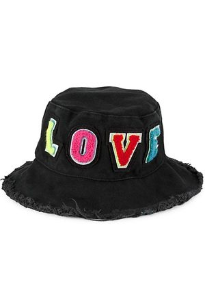 Jocelyn Kid's Patch Embroidered Bucket Hat