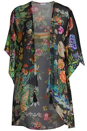 JOHNNY WAS Dreamer Short Silk Kimono