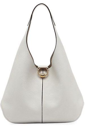 Salvatore Ferragamo Margot Leather Hobo Bag