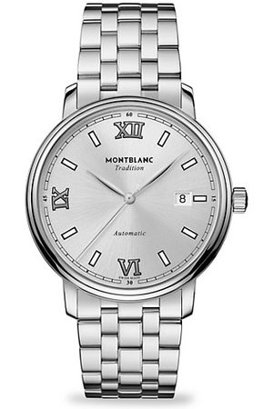 Mont Blanc Tradition Stainless Steel Bracelet Watch