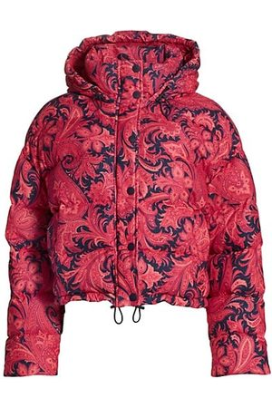 Etro Women Parkas - Piumino Long Beach Puffer Coat