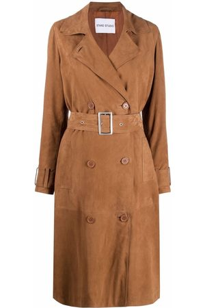 Stand Studio Gemma belted trench coat