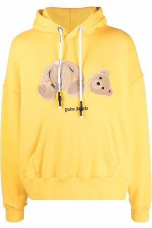 Palm Angels Bear logo-print hoodie