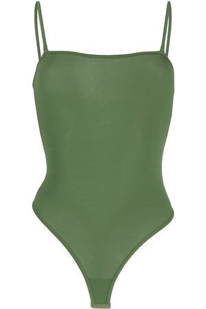 MAISON CLOSE Sleeveless modal bodysuit