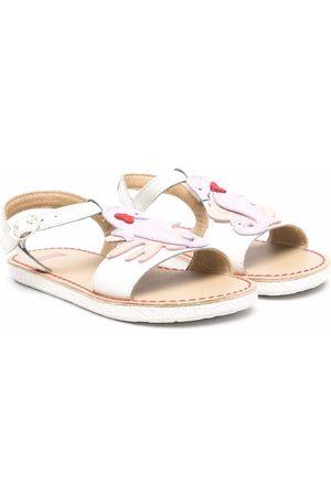 Camper Girls Sandals - Seahorse motif sandals