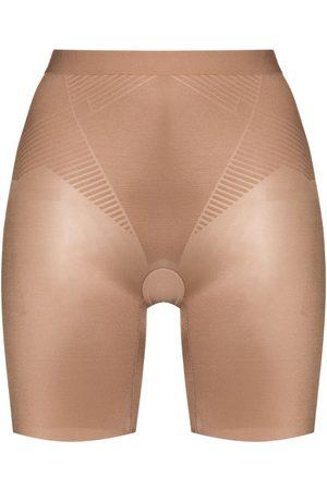 Spanx Women Briefs Shorts - 2.0 high-waist shaping shorts