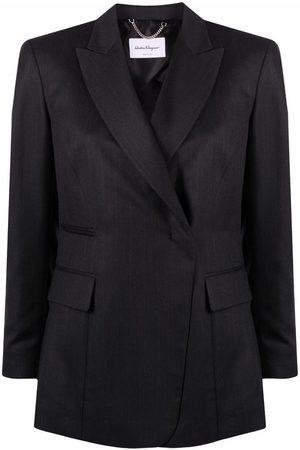 Salvatore Ferragamo Peak-lapel single-breasted blazer