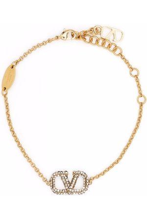 VALENTINO GARAVANI VLogo-plaque bracelet