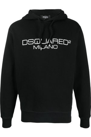 Dsquared2 Embroidered logo hoodie
