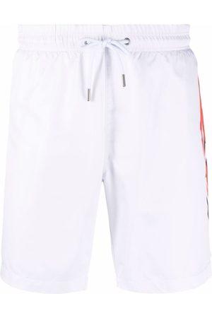 Philipp Plein Men Swimming Briefs - Logo-print swimming shorts