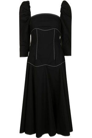 REJINA PYO Women Corsets - Stitched-corset flared dress