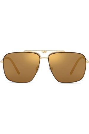 Dolce & Gabbana Men Sunglasses - Navigator-frame sunglasses