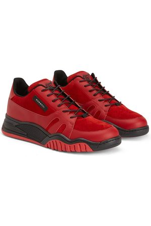 Giuseppe Zanotti TEEN Talon panelled low-top sneakers