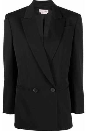 Alexander McQueen Double-breasted tailored blazer