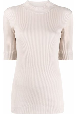 Brunello Cucinelli Women Jumpers - Ribbed-knit mock neck sweater