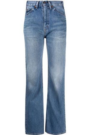 VALENTINO Bootcut high-rise jeans