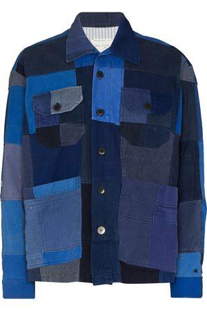 GREG LAUREN French Artist patchwork jacket