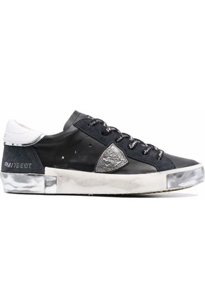 Philippe model Distressed-finish low top sneakers