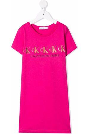 Calvin Klein Logo-print T-shirt dress