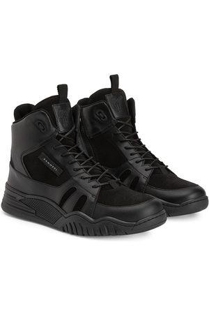 Giuseppe Zanotti Boys Sneakers - TEEN Talon high-top sneakers