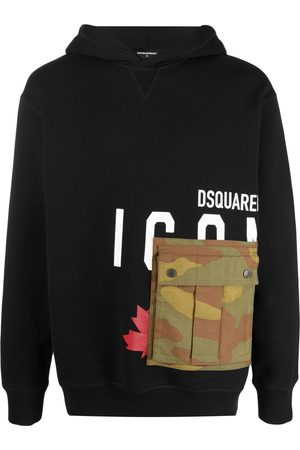 Dsquared2 Icon cargo-pocket hoodie