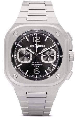 Bell & Ross Men Watches - BR 05 Chono Steel 42mm