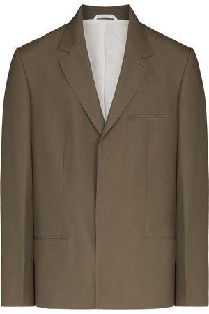 TOM WOOD Single-breasted wool blazer