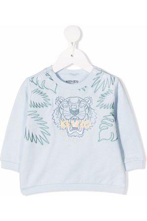 Kenzo Tiger logo-embroidered sweatshirt