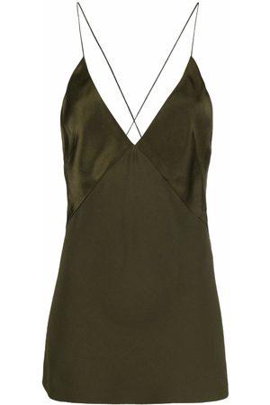 Haider Ackermann Longline V-neck camisole