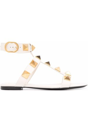 VALENTINO GARAVANI Women Sandals - Roman Stud ankle-strap sandals