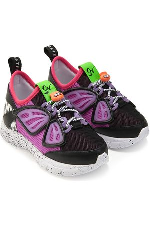 SOPHIA WEBSTER Girls Sneakers - Fly-By panelled low-top sneakers