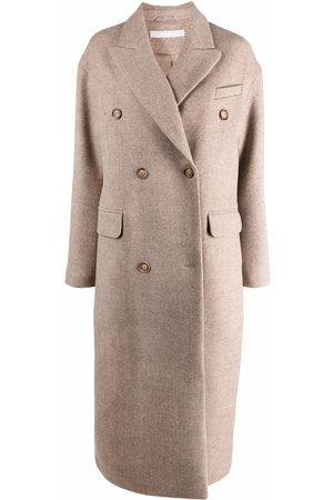 12 STOREEZ Women Coats - Straight-cut double-breasted coat