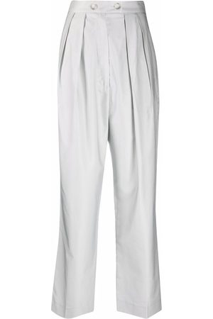 12 STOREEZ Pleated-waist trousers