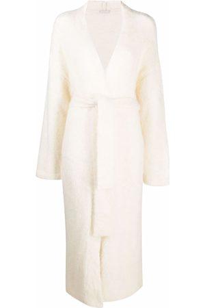 12 STOREEZ Women Cardigans - Belted cardi coat