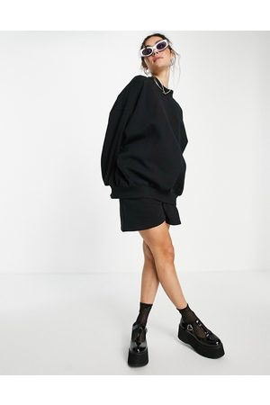 ASOS Super oversized cocoon sweatshirt with seam detail in