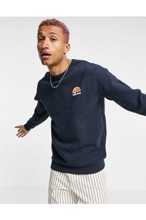 Ellesse Men Sweatshirts - Diveria sweatshirt with small logo in navy