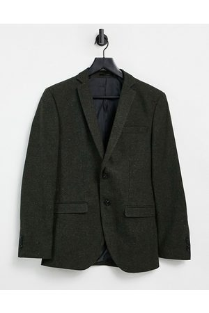 JACK & JONES Men Blazers - Premium suit jacket in khaki nep