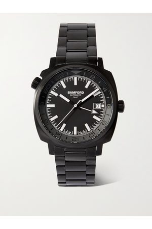 Bamford GMT Automatic 40mm Stainless Steel Watch