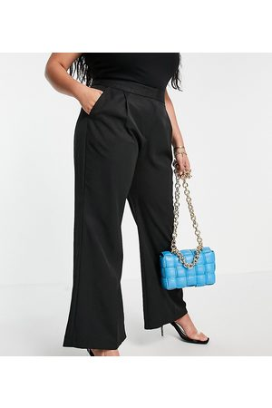 Closet Women Leggings - Slouchy flare tailored trouser in