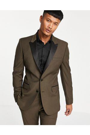 ASOS Men Blazers - Skinny tuxedo suit jacket in