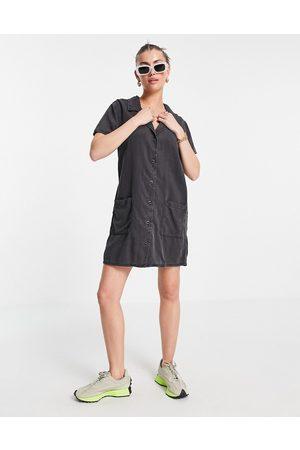 ASOS Women Casual Dresses - Soft denim shirt dress in washed