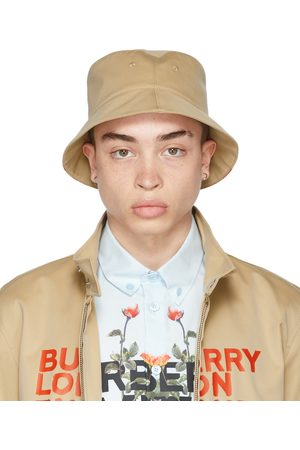 Burberry Reversible Beige Logo Bucket Hat