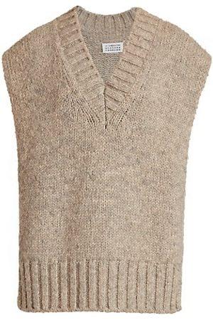 Maison Margiela Women Camisoles - Tabard Knit Vest