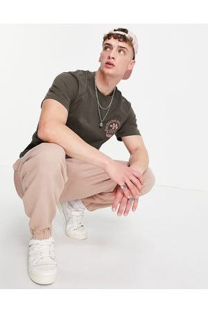 Stan Ray T-shirt with remedy back print in khaki