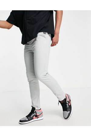 ASOS Skinny chinos with elasticated waist in light