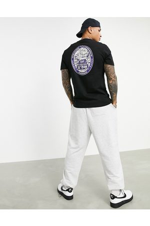 ASOS Men Short Sleeve - T-shirt in organic cotton with tiger back print