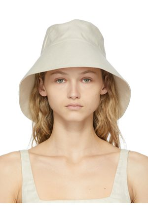 BONDI BORN Beige Lucy Beach Hat
