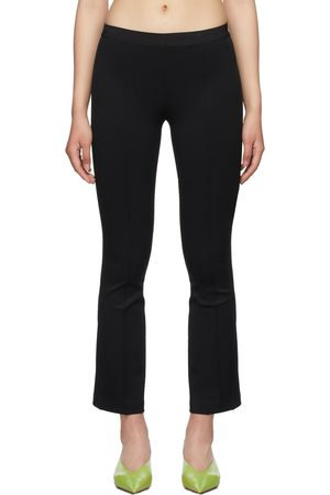 Helmut Lang Ribbed Flare Leggings